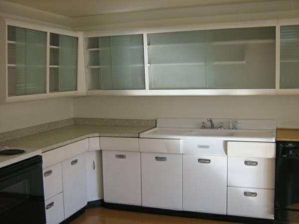 Vintage Metal Kitchen Cabinets In Home Garden Home Improvement