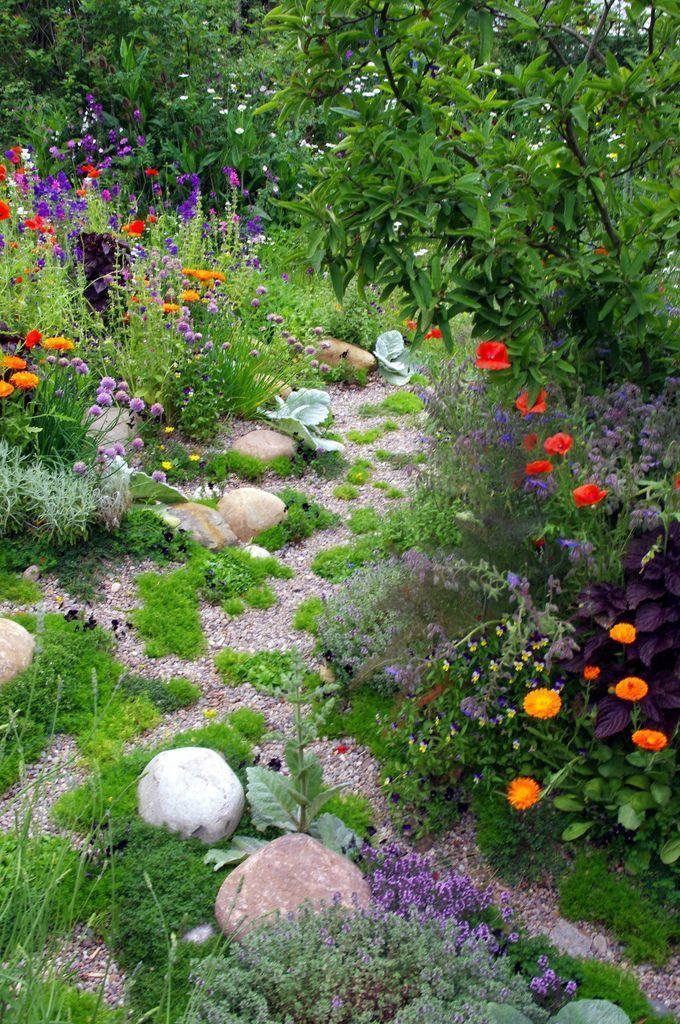 Up the garden path #steingartenideen