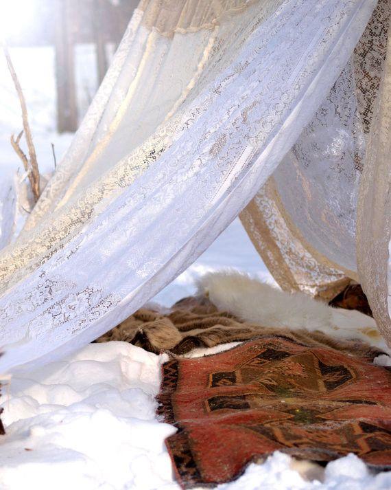 Boho Meditation Tent Bed Canopy | Bohemian bedroom ...