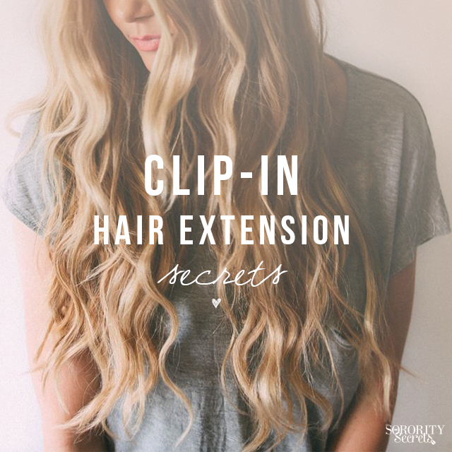 Clip in hair extension secrets dolled up pinterest extensions hair coloring clip in hair extension secrets pmusecretfo Choice Image
