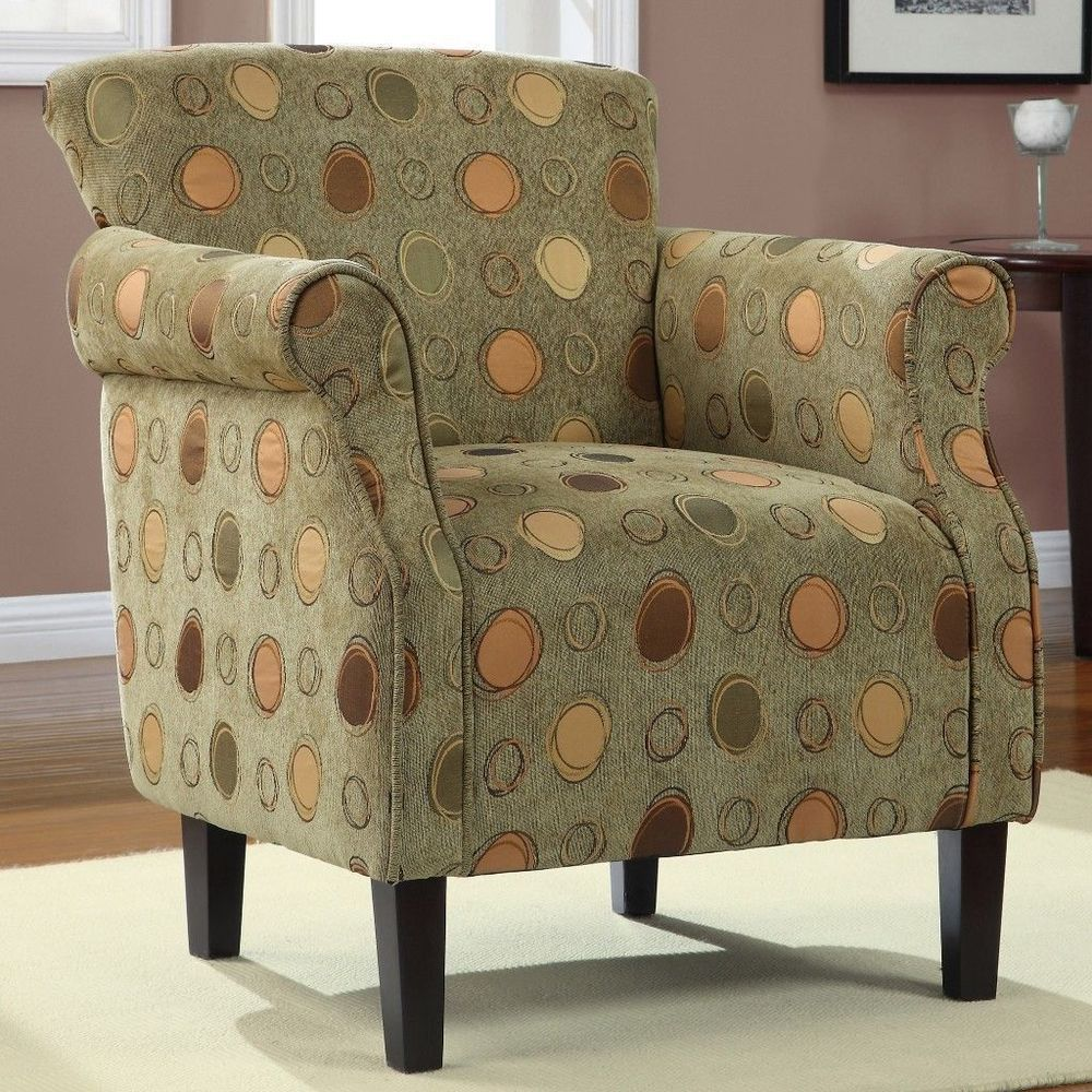Details About Tiburon Grasshopper Green Accent Arm Chair Stylish Living  Room Furniture Part 76