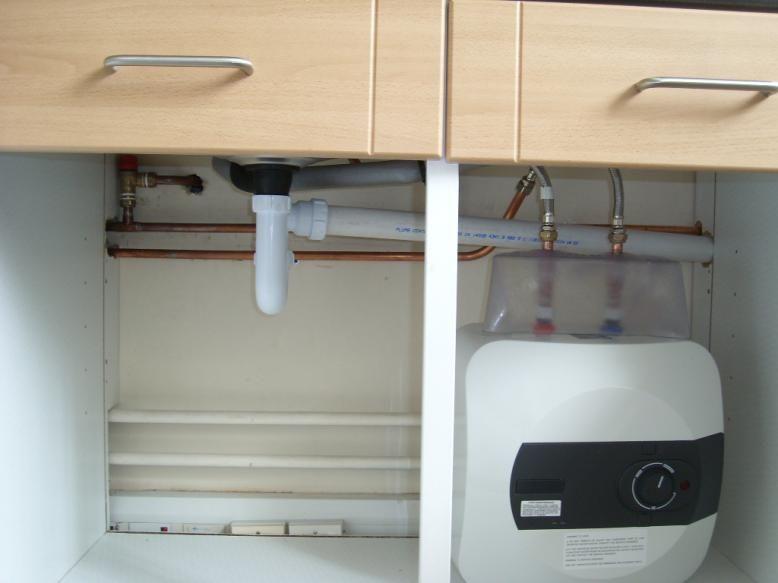 Gas Tankless Water Heater Installation In Kitchen Google