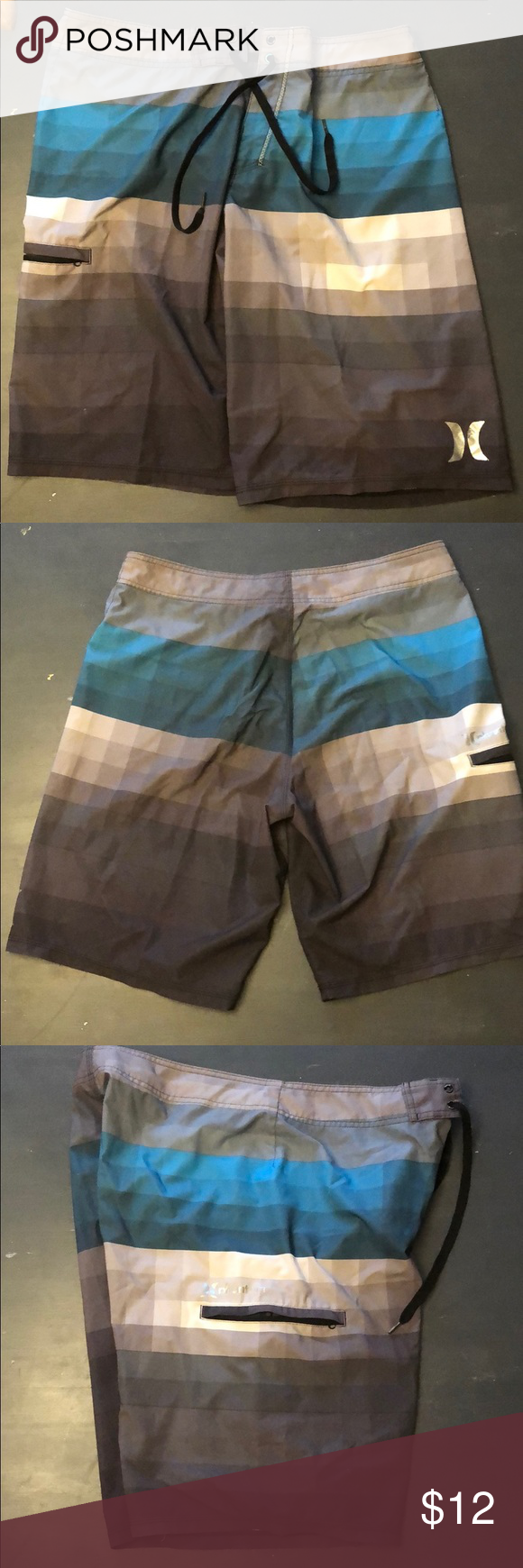 de235d1a2768a Hurley phantom board shorts Men's board shorts by Hurley. Hurley Phantom.  Size 33. Stretch material. Used but in good condition. Hurley Swim Board  Shorts