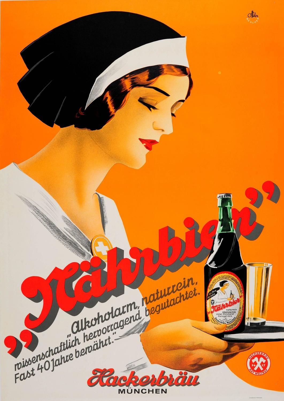 Otto Ottler Original 1930s Art Deco Advertising Poster