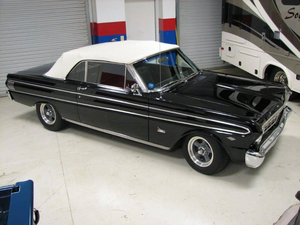 Classic 1964 ford falcon convertible offered for auction concord north carolina nice texas car completely restored miles since restoration rust