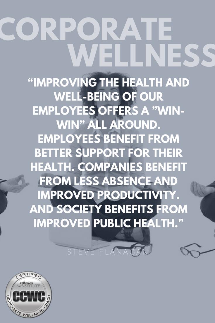 Corporate Wellness Coach Certification Corporate Wellness Coaching
