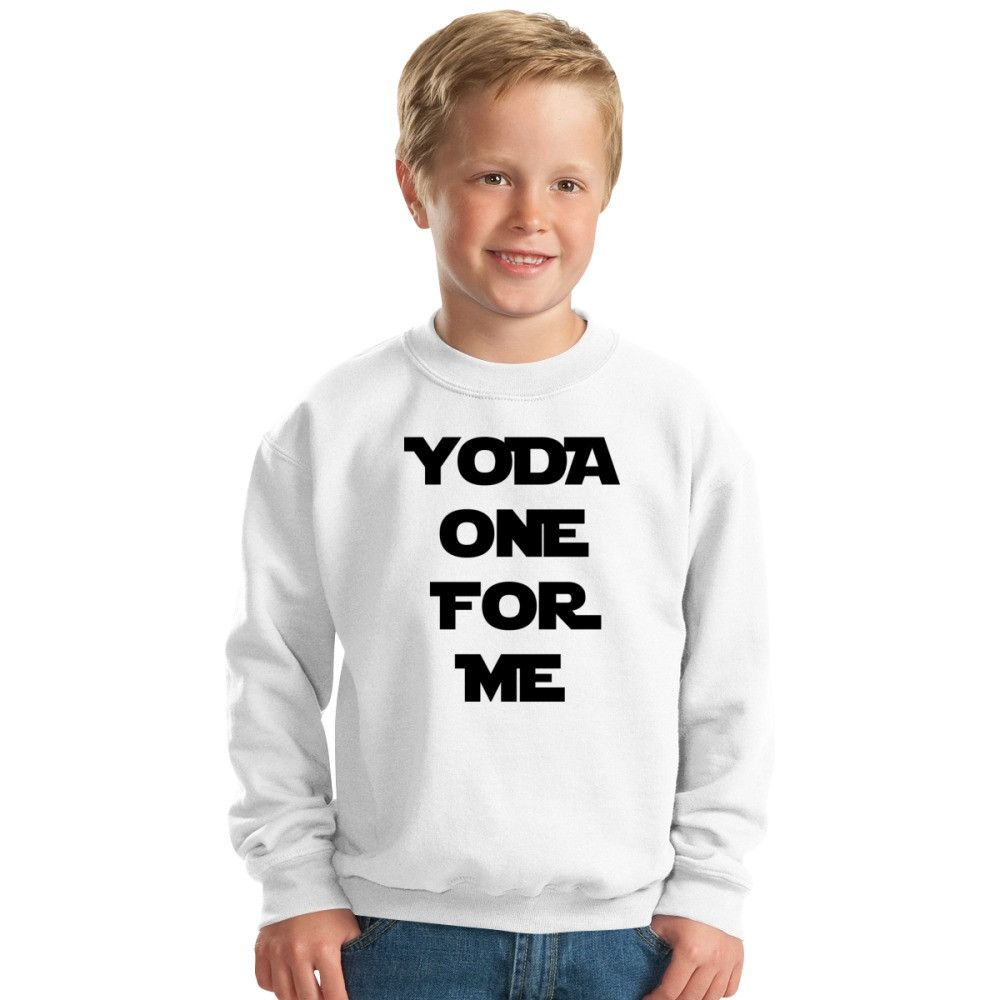 Yoda One For Me Kids Sweatshirt