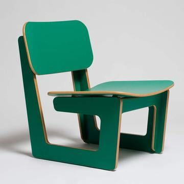 Capital Chair Green now featured on Fab.