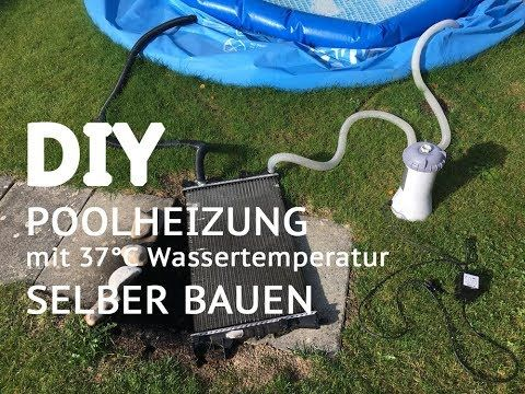 diy garten bauanleitung f r poolheizung mit w rmetauscher. Black Bedroom Furniture Sets. Home Design Ideas