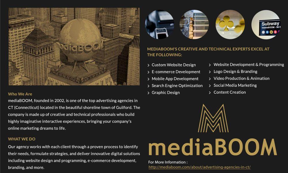 Mediaboom Award Winning Digital Marketing Agency And Web Design Company Located In New Haven Hartford Ct Digital Advertising Agency Online Digital Marketing Web Design Company
