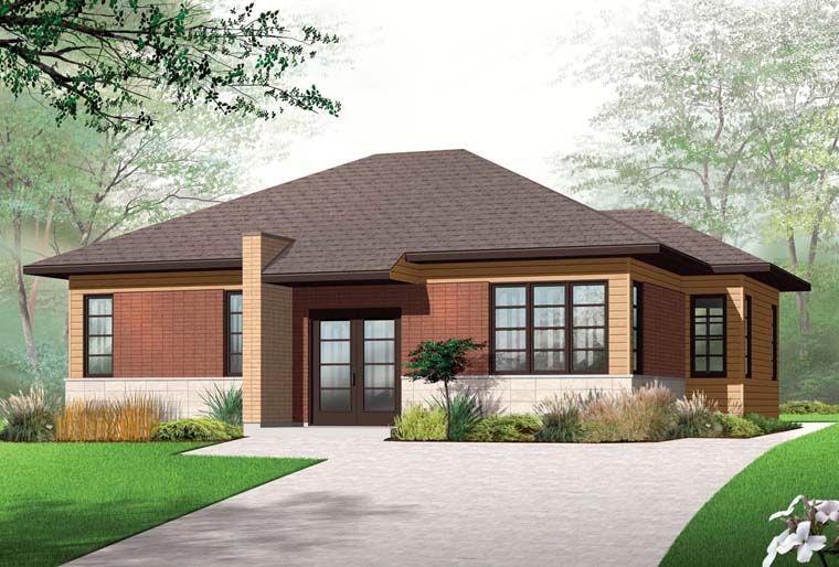 Contemporary House Plan 76284