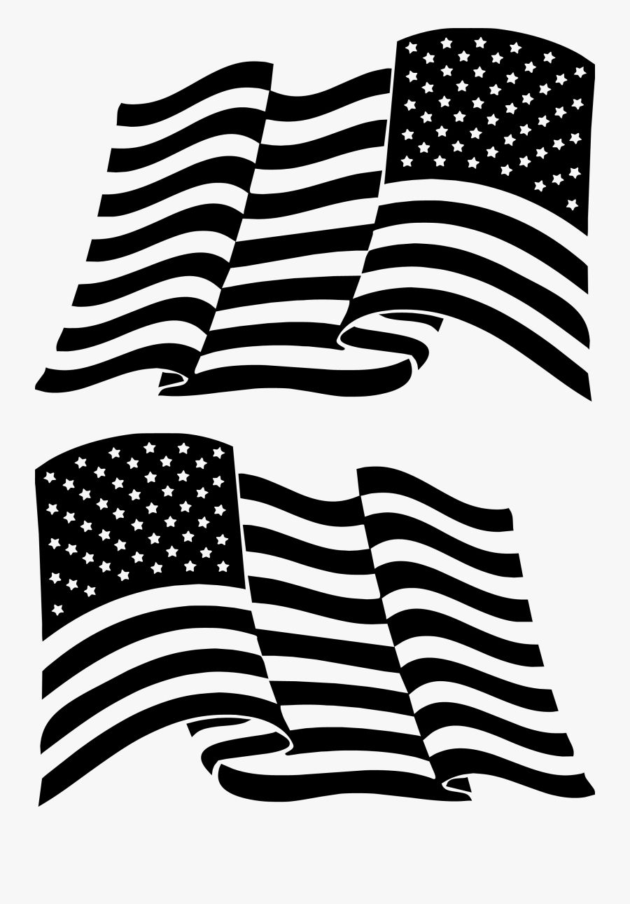 American Flag Clipart Black And White Images Clipart Black And White Black N White Images White Image