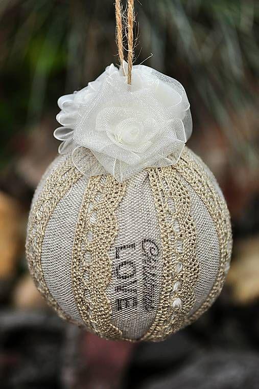 RURO / Vianočná guľa / Christmas ball
