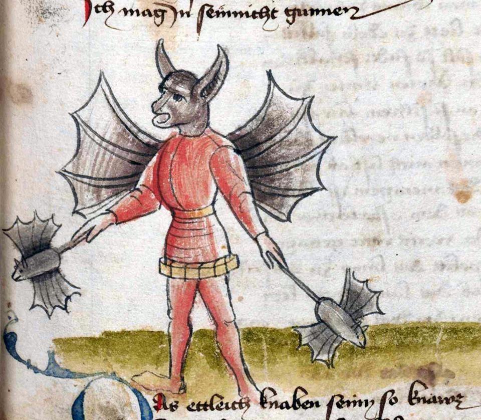 Hans Vintler, Die pluemen der tugent, Vienna 1450 (Wien