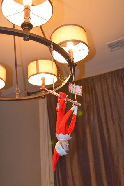 Elf on the Shelf Trapeze
