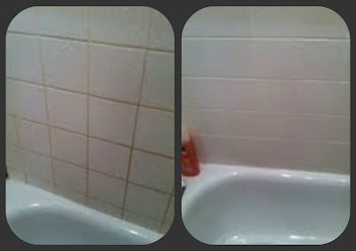 Cleaning Tile Grout In A Shower Magic Eraser Water