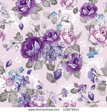 Beautiful Vintage Seamless Pattern For Retro Wallpapers Abstract