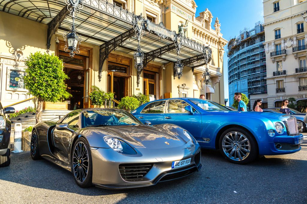 Luxury Cars Near Monte Carlo Grand Casino Puzzle In Cars Amp Bikes Jigsaw Puzzles On Thejigsawpuzzles Com Play Full Luxury Cars Monte Carlo Best Luxury Cars