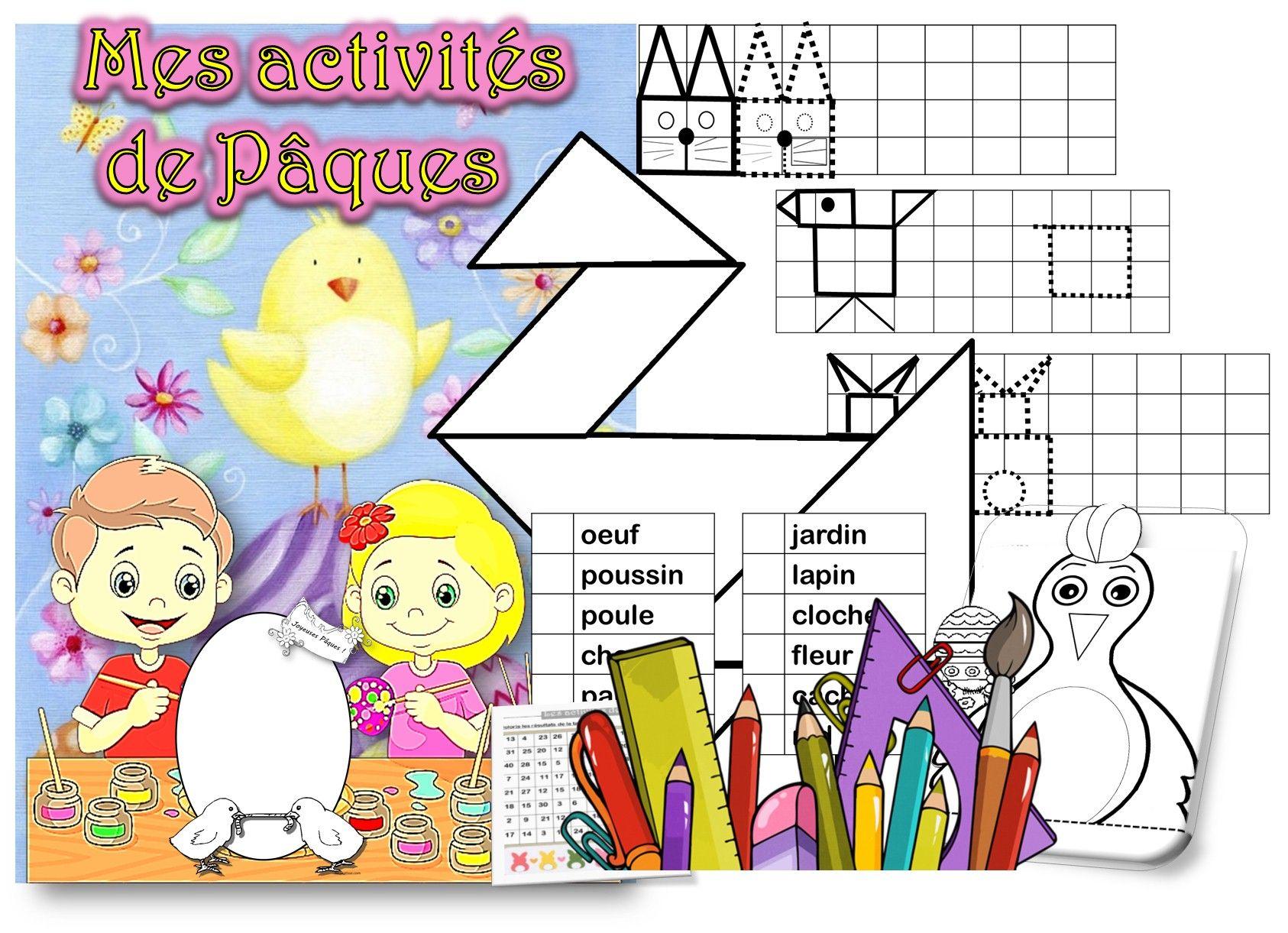 Activités Autonomes Autour Du Printemps Pâques Pinterest