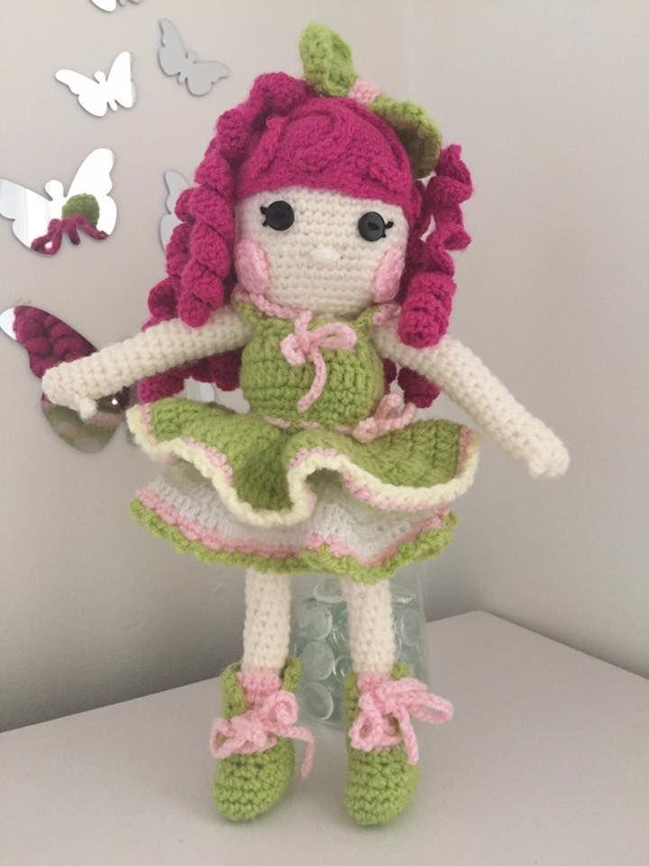 Hand made Crochet Dolly  https://www.facebook.com/allthingsprettyforlittlegirls/