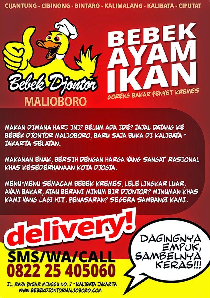 60 Contoh Desain Brosur Makanan ~ Ayeey.com | Makanan ...