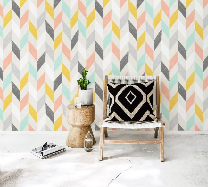 Pastel Chevron Wallpapers Lenartewallpapers Com Chevron Wallpaper Chevron Wallpaper Bedroom Herringbone Wall