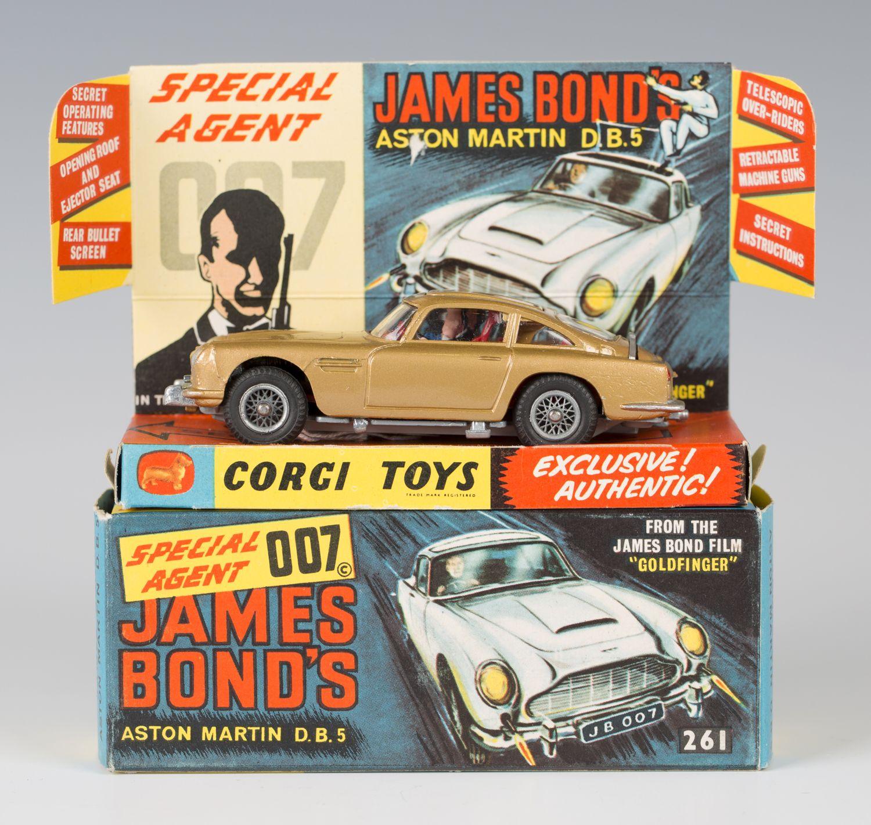 A Corgi Toys No. 261 James Bond's Aston Martin DB5, Boxed