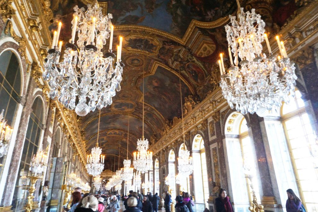 Chateau De Versailles Dream For Eternity Hall Of Mirrors