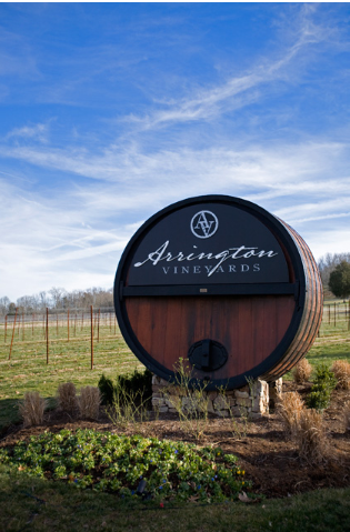 My fave wine comes from this vineyard. Arrington Vineyards, Tennessee.
