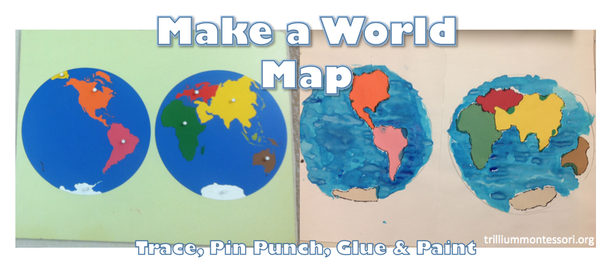 Introduction to geography glue painting geography and montessori introduction to geography gumiabroncs Image collections