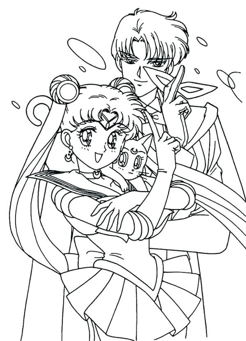 Sailor Moon Coloring Pages Doll Palace Sailor Moon Coloring Pages Moon Coloring Pages Sailor Mini Moon