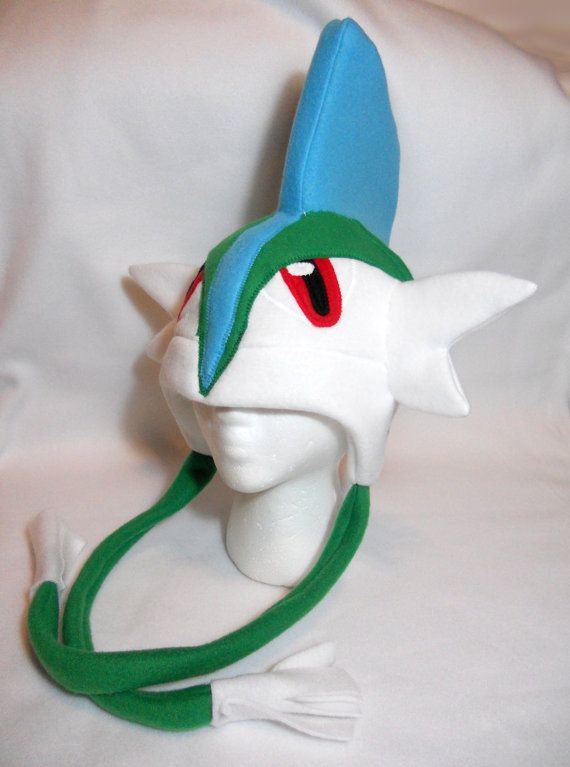 Pokemon Inspired Gallade Fleece Hat -MADE TO ORDER- | What I Want ...
