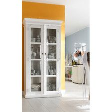 Halifax Display Cabinet with 2 Glass Doors with Recycled Timber option