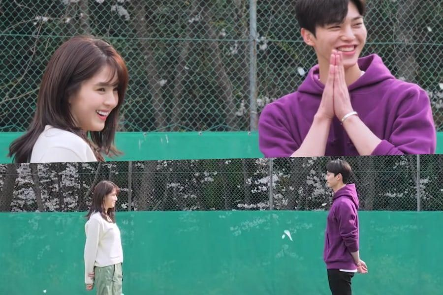 """Watch: Han So Hee And Song Kang Are Adorably In Sync On The Set Of """"Nevertheless"""""""