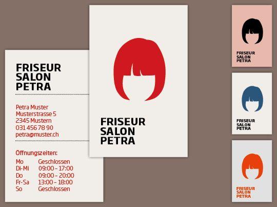 Visitenkarte Friseur Chique Visitenkarten Visitenkarten