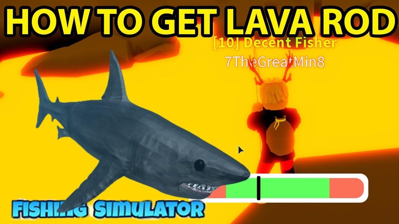 Aquariums Roblox Fishing Simulator How To Get Volcano Obby Shark