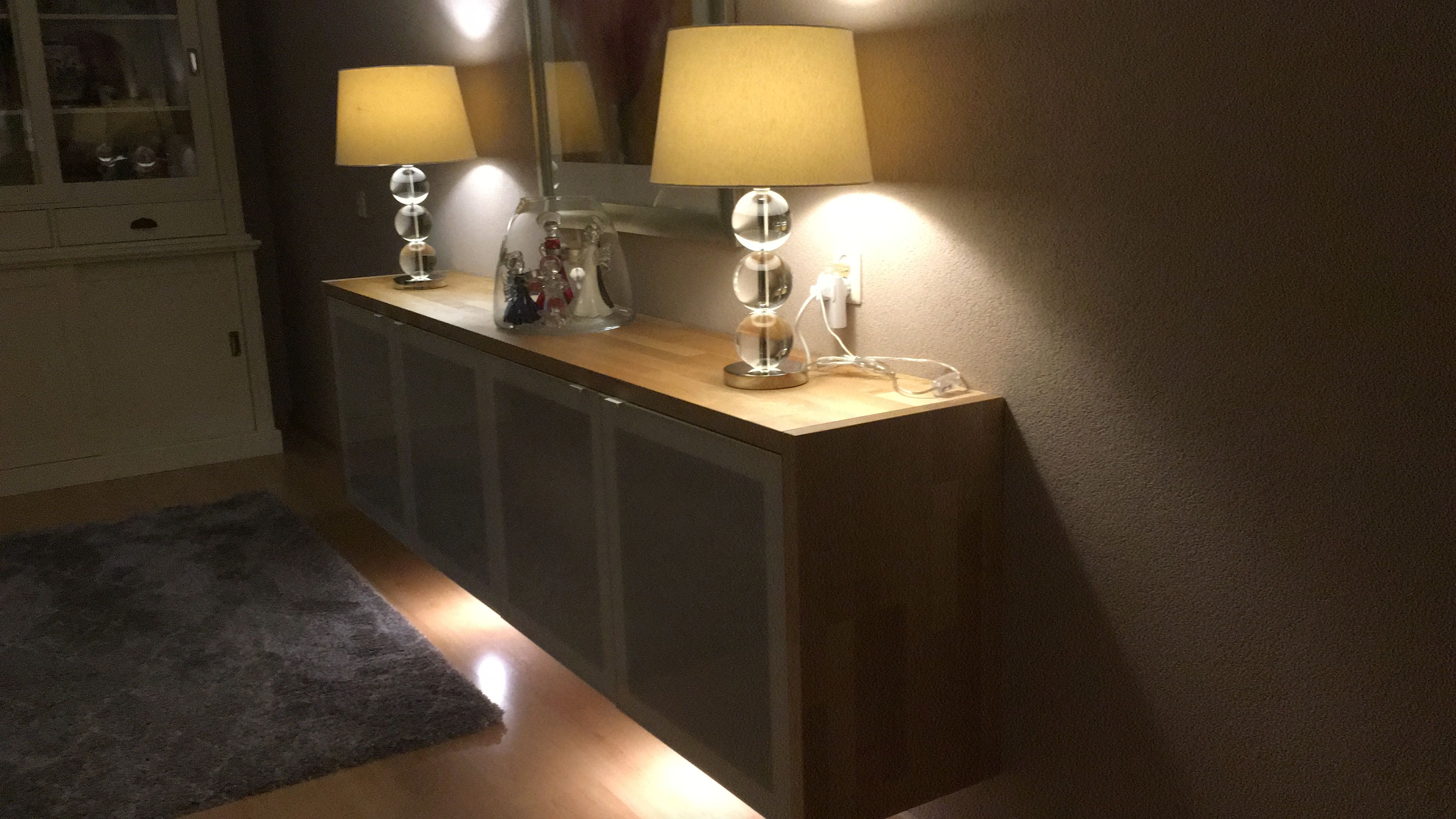 New Sideboard, Ikea units and Kitchen worktop