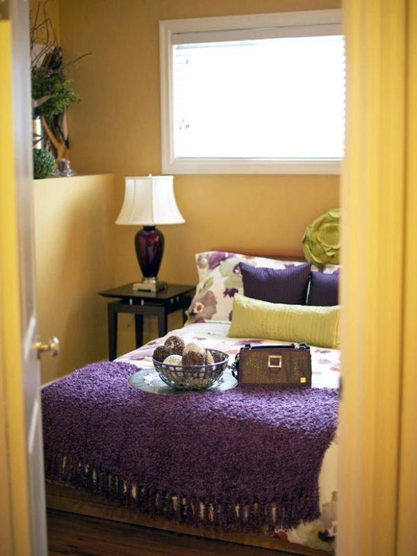 Purple Yellow Bedroom – Purple and Yellow Bedroom