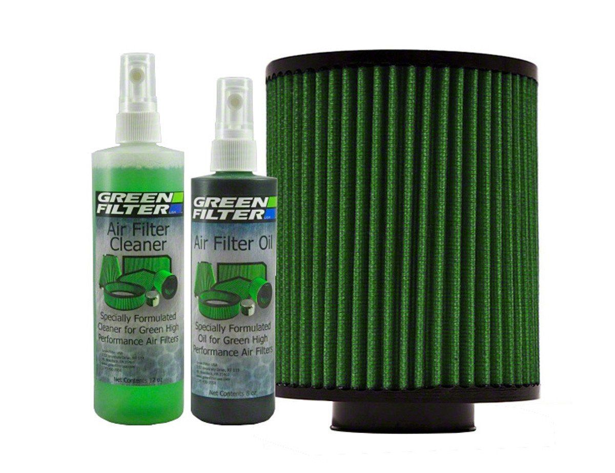Green Filter Recharge Oil Cleaner Kit Green Color Shud N Tools Dream Builds And Guns Cleaning Kit Filters Performance Air Filters