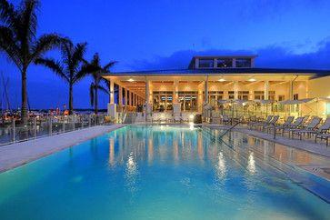 Sarasota Yacht Club >> Sarasota Yacht Club Architecture House Styles Glass Railing