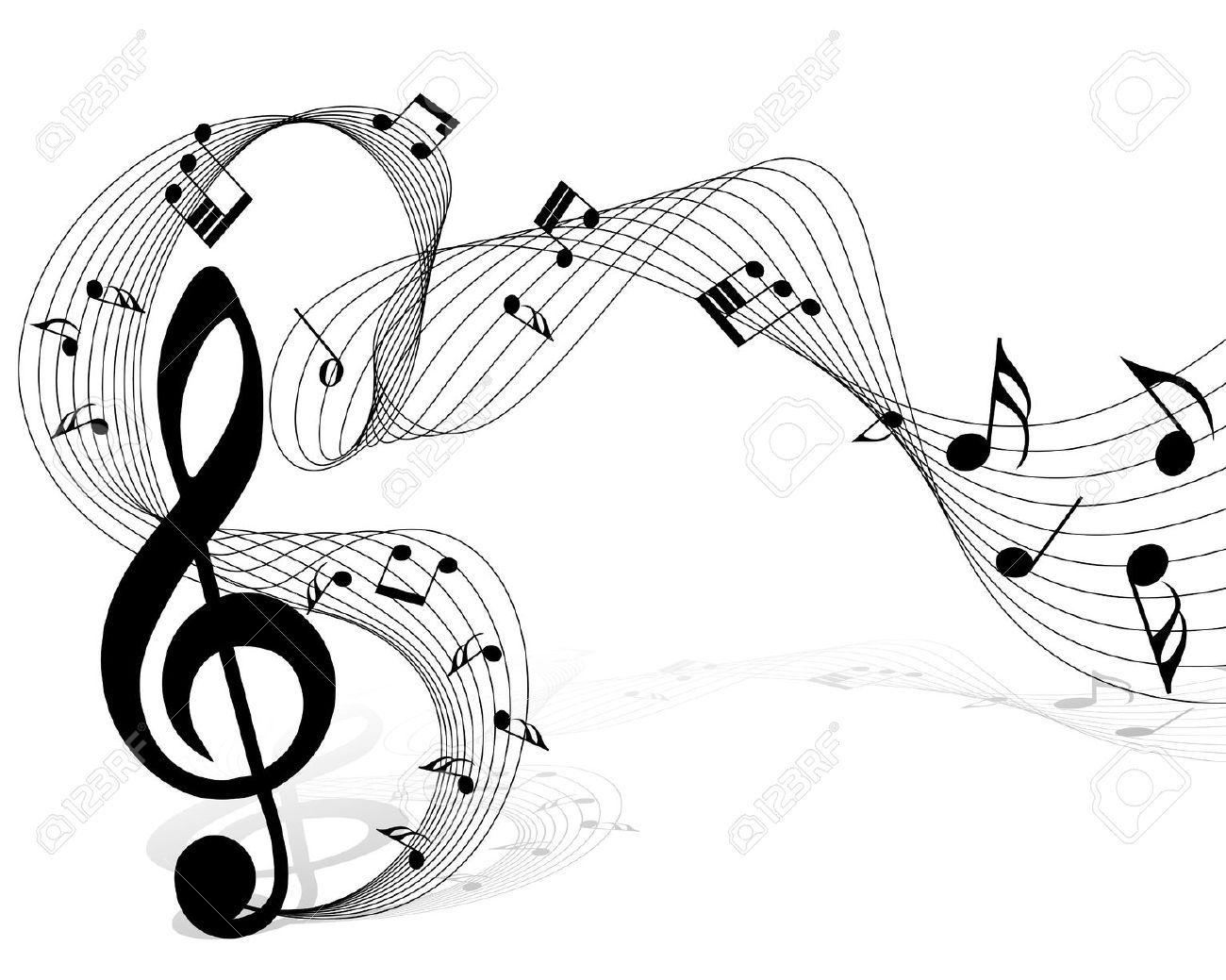 Clave De Sol Vectores Buscar Con Google Notas Musicais Vetor Simbolos Musicais Imagens Musicais