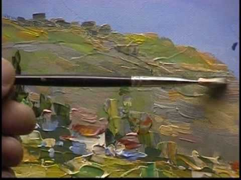 Heavy impasto Palette Knife painting by Alex Perez from 1999 Part-3