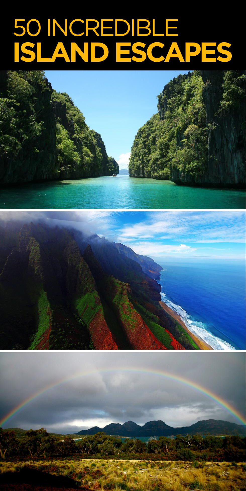 Best Vacation Destinations During May And June: 50 Incredible Island Escapes (PHOTOS)