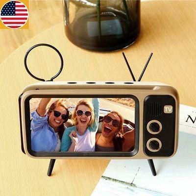 TV BLUETOOTH SPEAKER MOBILE PHONE HOLDER - Wireless SPEAKER MOBILE PHONE HOLDER. Suitable for 11