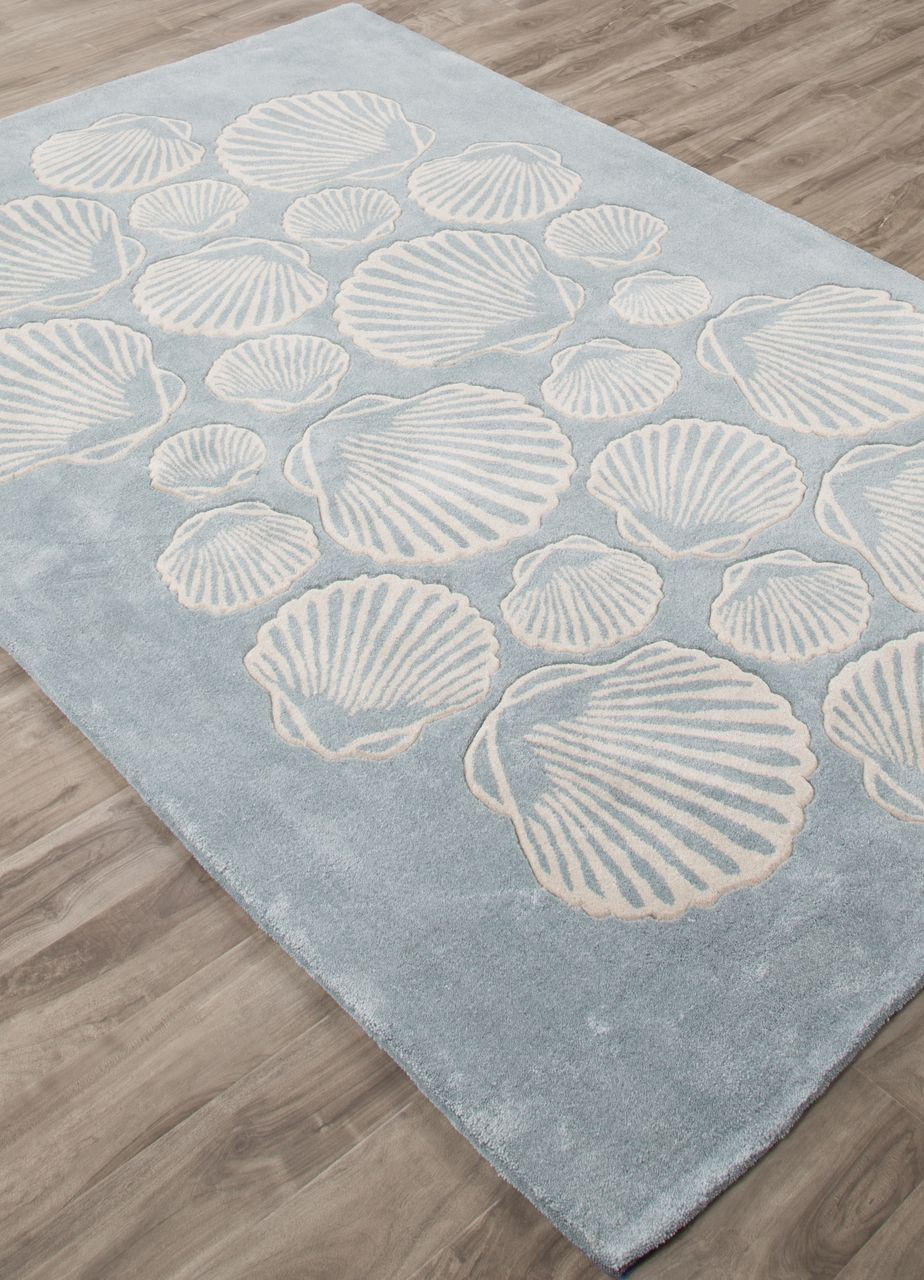 A Patterned Design Reminscent Of A Beach Full Of Seashells