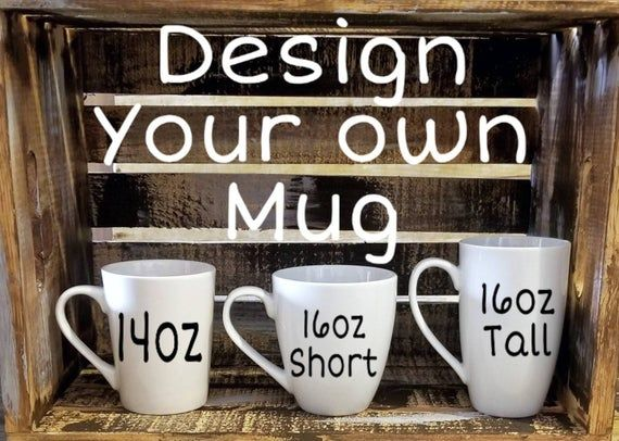 Design your own, custom mug, 14oz or 16oz glitter mug, ceramic mug, personalized mug, mugs with sayings, teacher gift, dad gift, mom mug #custommugs