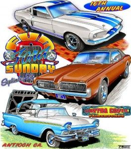 Fun Ford Sunday Event Posters Pinterest Ford Car Drawings