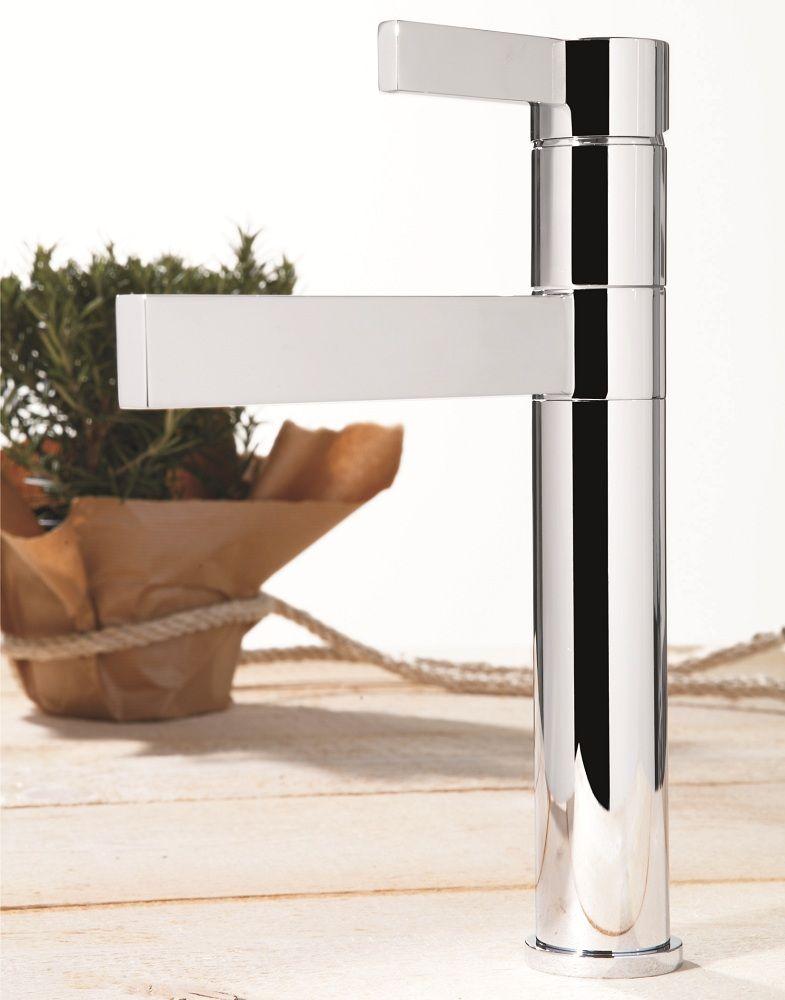 Caso Max Ultra Modern Bathroom Faucet | Brushed Nickel | FIXTURES ...