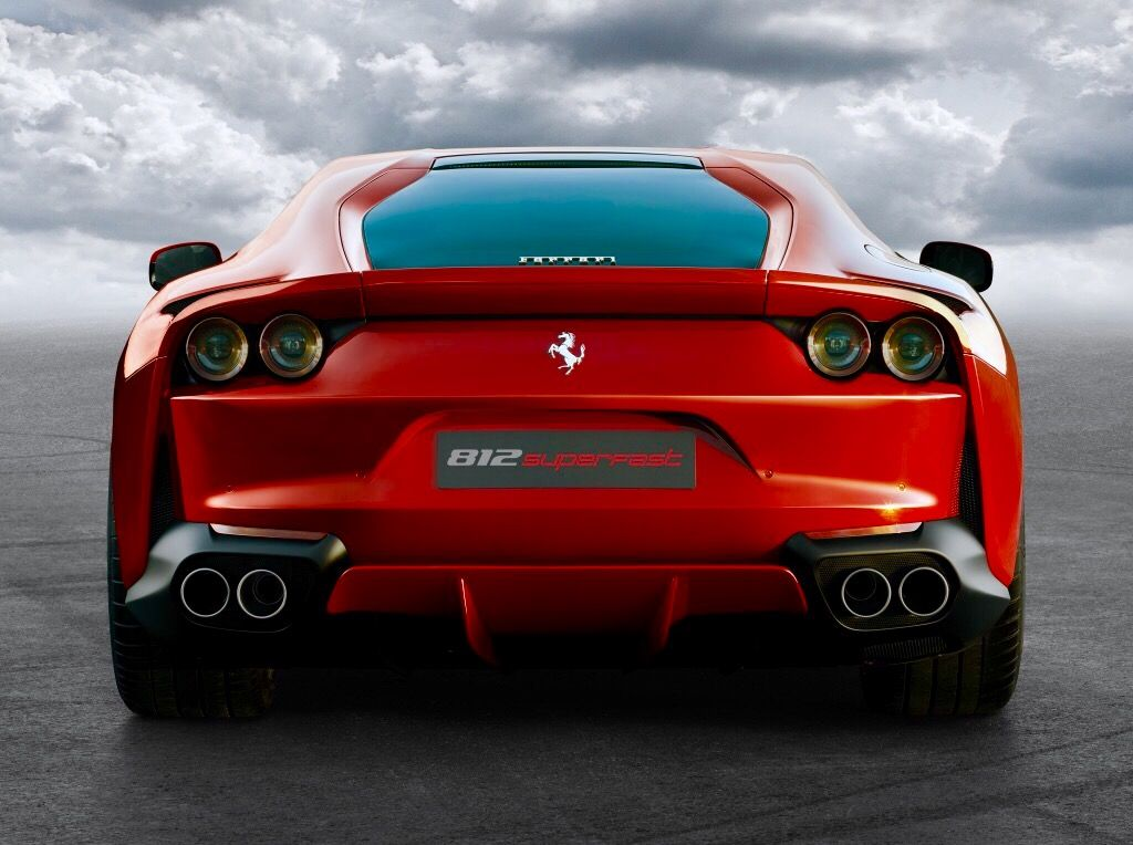 F812 Superfast With Images Ferrari Car Fast Sports Cars