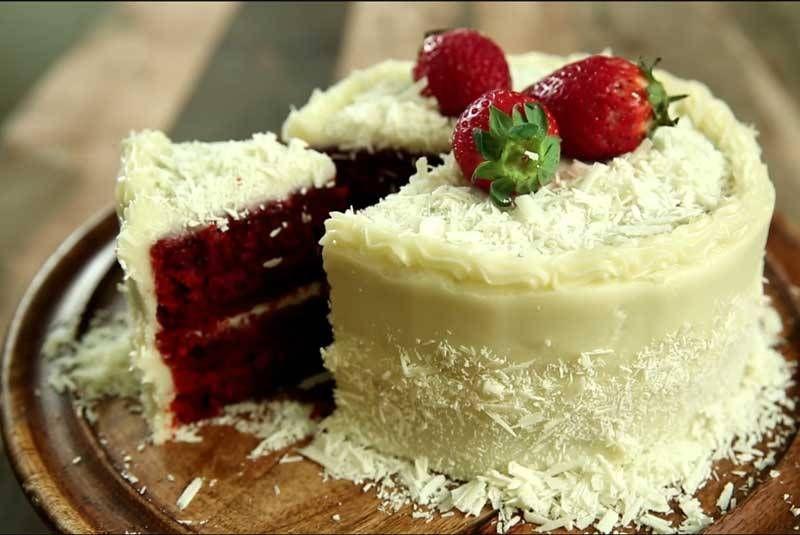 Cream Cheese Frosted Red Velvet Cake Recipe Birthday Cake Cakes